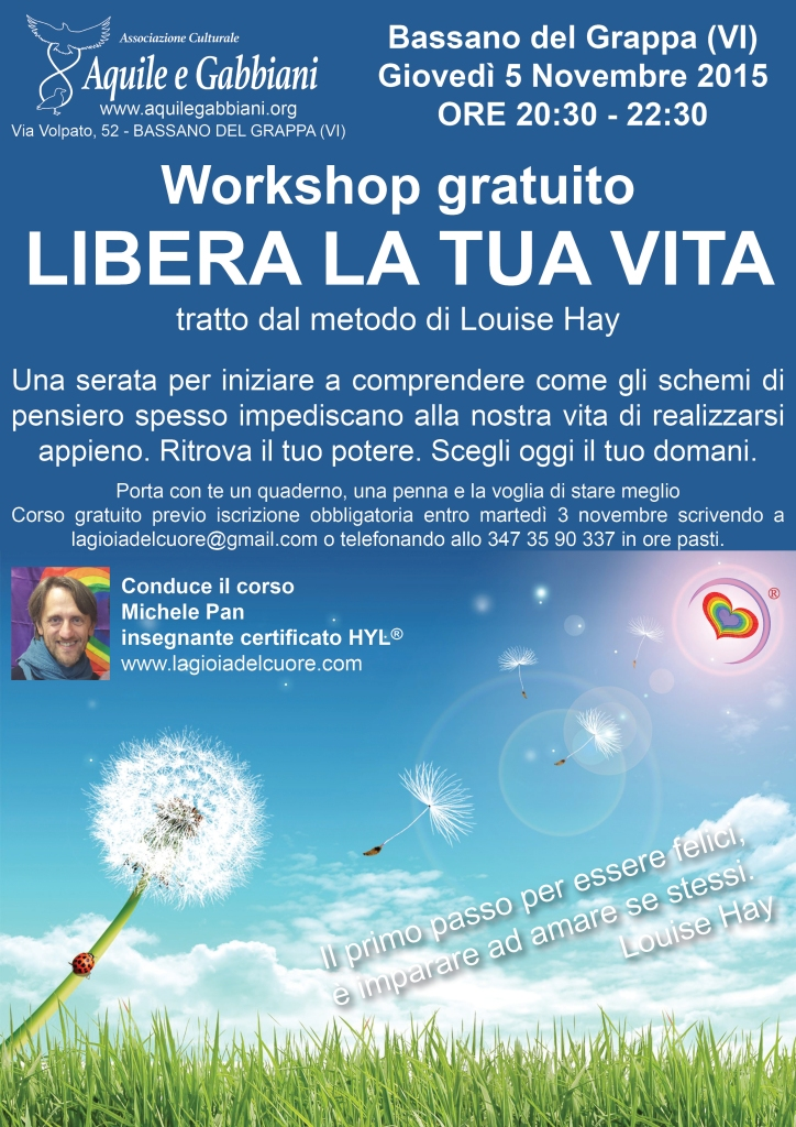 Workshop - Libera la tua vita