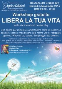 Workshop - Libera la tua vita - web