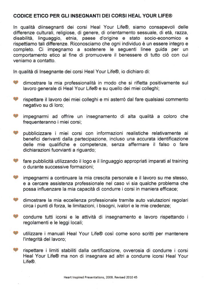 Codice etico HYL 1